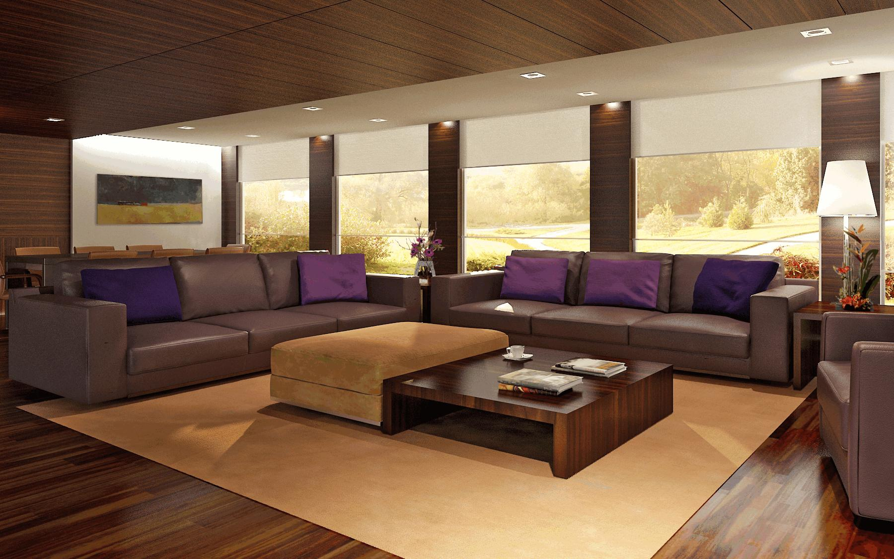Image Result For Living Room Ideas With Dark Brown Leather Couches